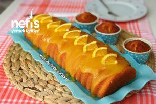 Yoğun Soslu Portakallı Kek Tarifi