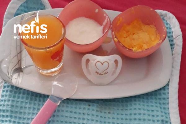 Bebek Kahvaltısı ( 6 Ay) Tarifi