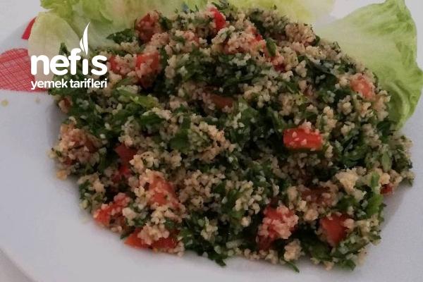 Lübnan Güzeli : Tabbule Salatası Tarifi