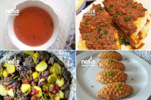 Ustasından Ramazan Menüsü Tarifi