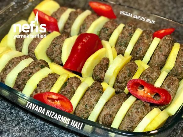 Fırında Patatesli İzmir Köfte (enfesss)