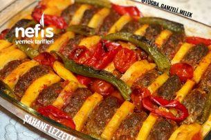 Fırında Patatesli İzmir Köfte (Enfes) Tarifi