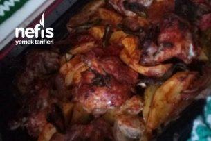 Fırında Patatesli Nefis Tavuk Tarifi