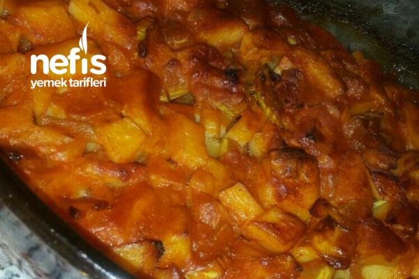 Kabaklı Patates Yemeği (Fırında) Olay Yemek Tarifi