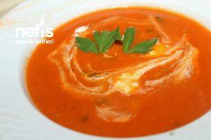 Köz Domates Biber Çorbası (Aşçı Tarifi )