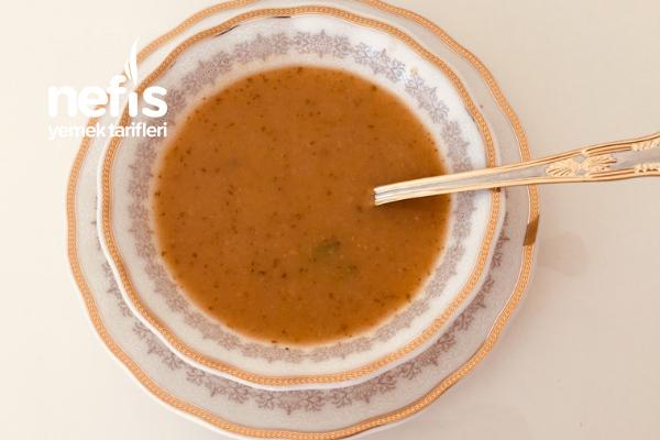 Sebzeli Tahıl Çorbası Tarifi