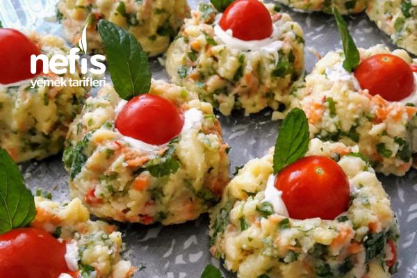 Şekli Şahane Ezme Patates Salatası Tarifi