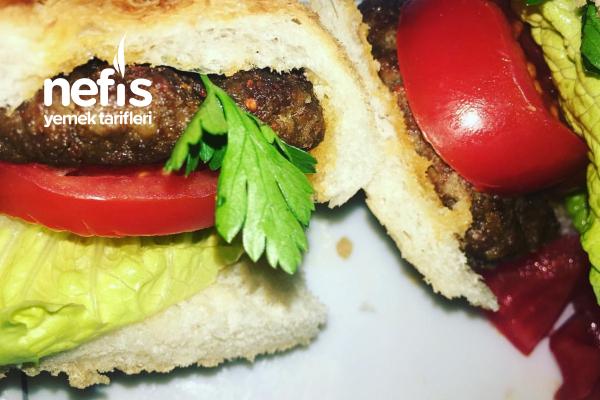 Somon Ekmekli Pratik Hamburger Tarifi