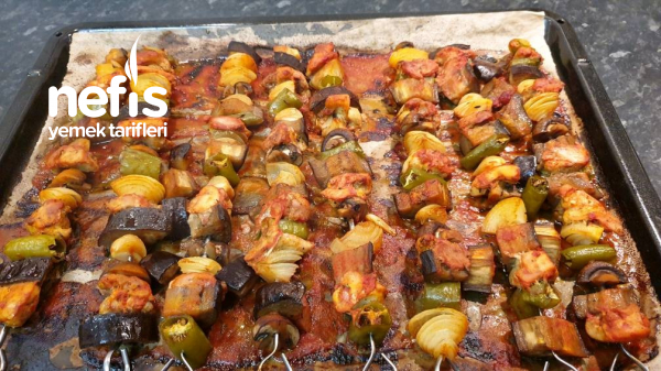 Tavuklu Şiş Kebab