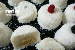 Teremyağlı Mini Lokmalık  Kekli Fincan Tatlısı (Tam Ölçü) Tarifi