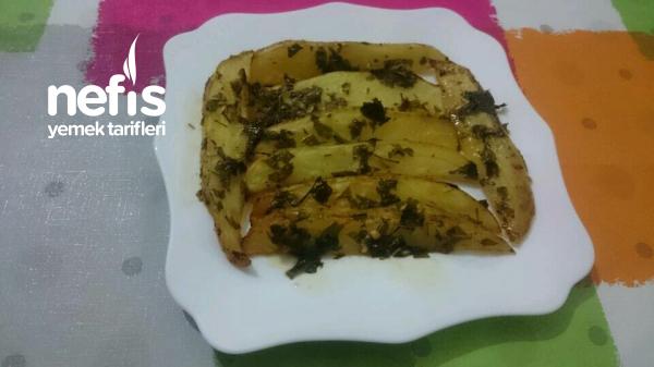 Elma Dilim Patates (fırında)