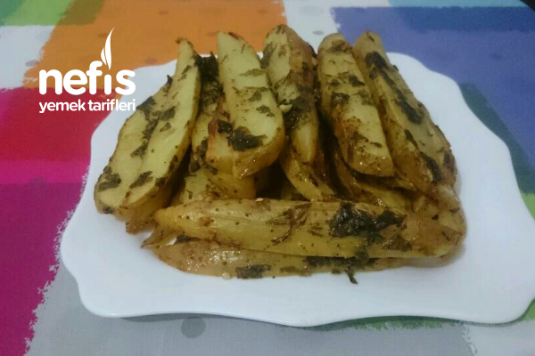 Elma Dilim Patates (fırında) Tarifi