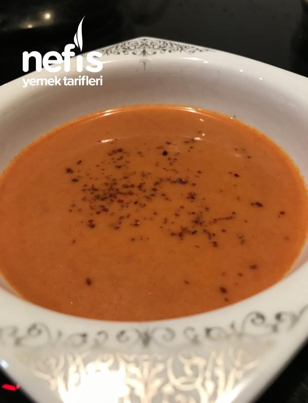 Kremalı Domates Çorbası (Videolu)
