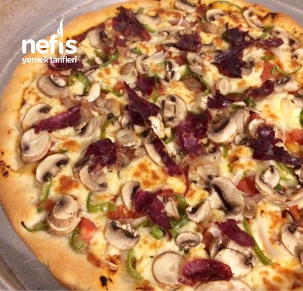 Pastırmalı Pizza