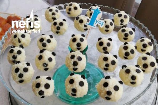 Sevimli Pandalar (İrmikli Toplar) Tarifi