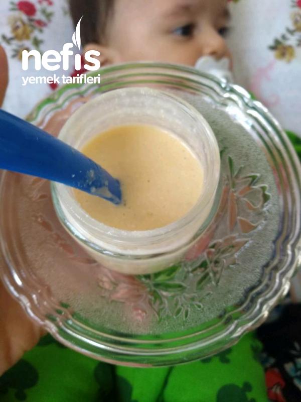Yoğurtlu, Yumurta Sarılı,muzlu, Yulaf Unlu Bebek Maması (bol Protein Ve Kalsiyum)-(6+)