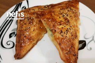 10 Dakika Fırında 15 Dakika Sofrada Baklavalık Yufkadan Çıtır Börek Tarifi