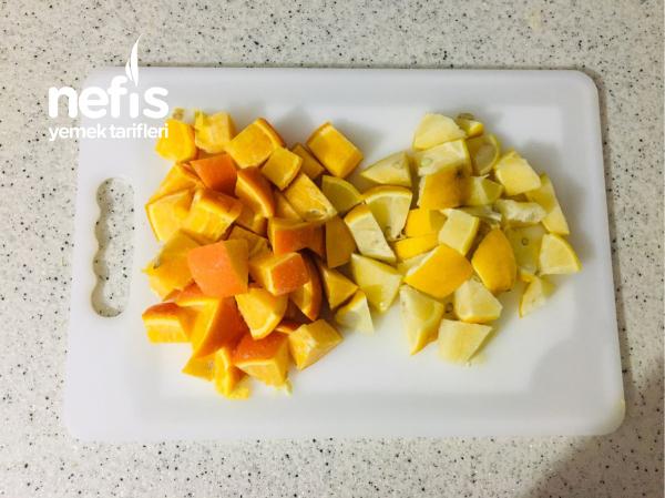 Bir Limon Bir Portakal İle Üç Litre Limonata Yapımı