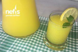 Elma Aromalı Limonata Tarifi