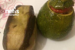 Fırında Kabak Patlıcan Tarifi