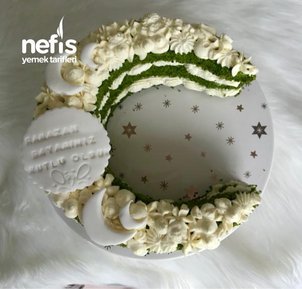Ramazan Bayrami Ozel Ay Seklinde Pasta (videolu)