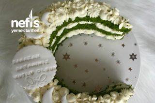 Ramazan Bayramı Özel Ay Şeklinde Pasta (Videolu) Tarifi