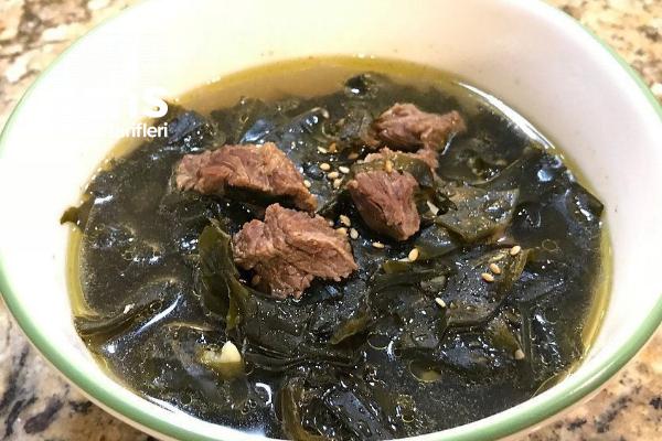 Yosun Çorbası (Kore) Tarifi