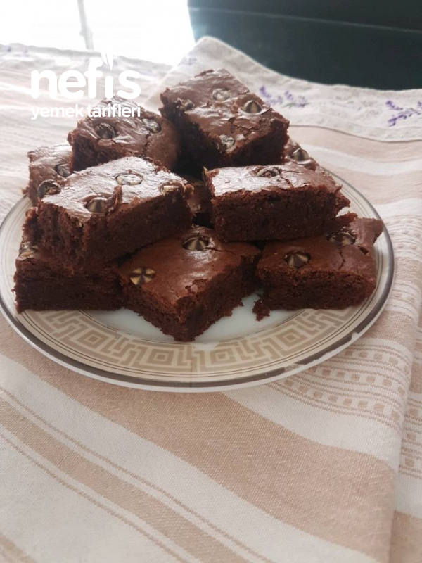 3 Malzemeyle Nutella Brownie