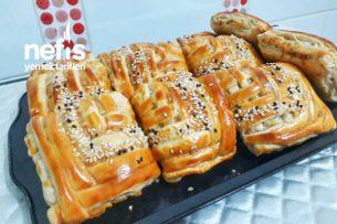 Az Malzemeyle Çok Lezzetli Çok Pratik Kafes Böreği Tarifi