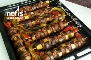 Fırında Patlıcan Kebabı (Lokum Gibi) Tarifi
