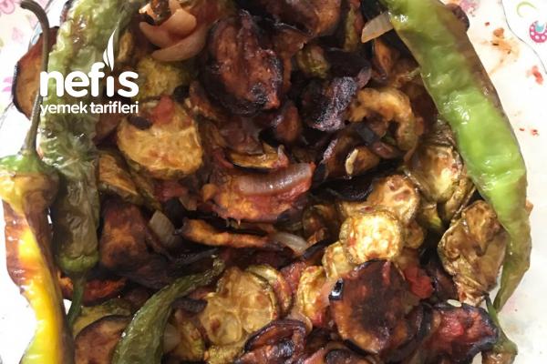Soslu Kabak Patlıcan Kızartması Tarifi