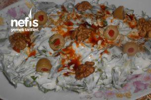 Zeytinli Cevizli Semizotu Salatası Tarifi