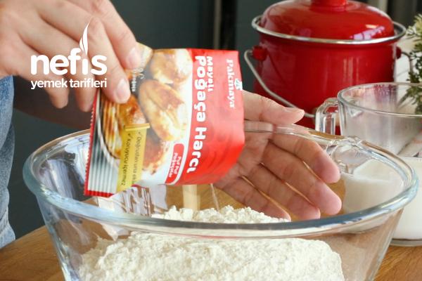 Pakmaya Kaşar Peynirli Mayalı Poğaça