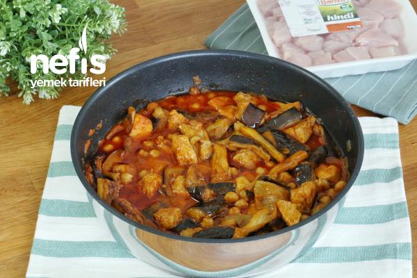 Patlıcanlı Hindi Kuşbaşı Tarifi