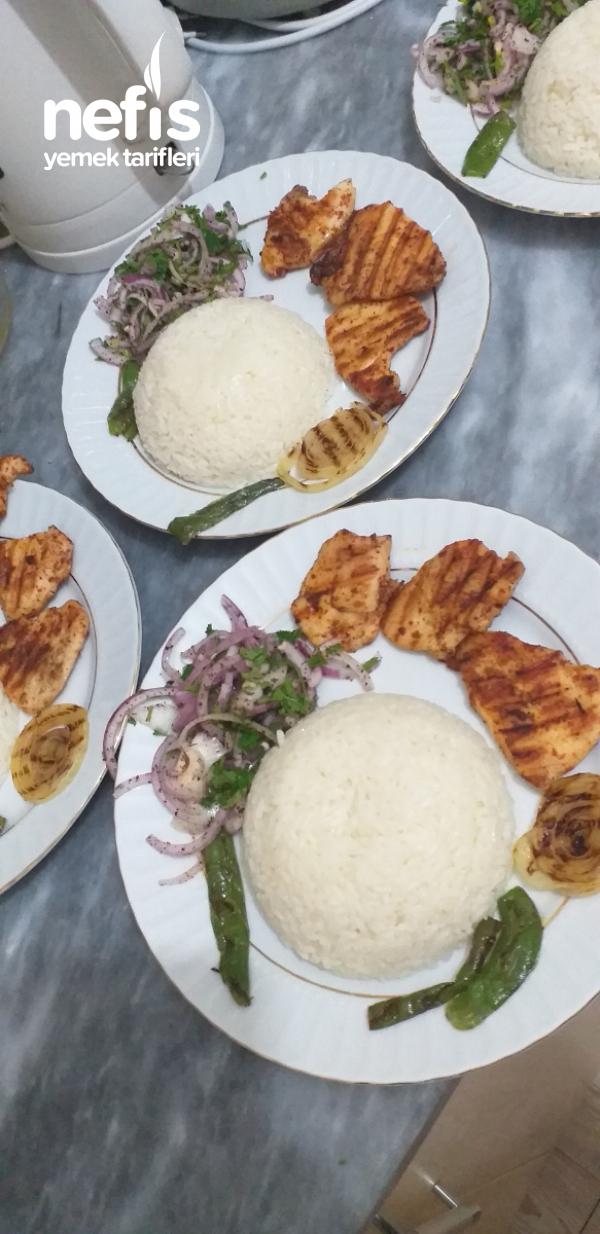 Tavuk Izgara(tost Makinasında)