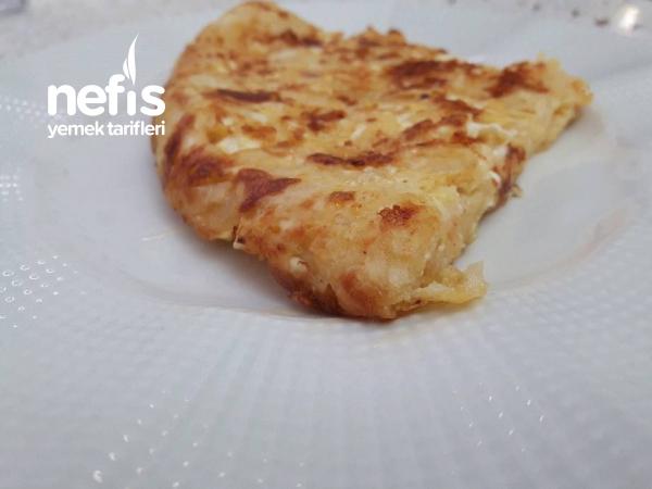 5 Dakikada Nefis Dağılmayan Börek Omlet