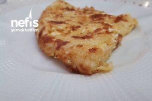 5 Dakikada Nefis Dağılmayan Börek Omlet Tarifi