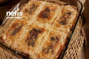Mercimekli Tepsi Böreği (Baklavalık Yufka İle) Tarifi