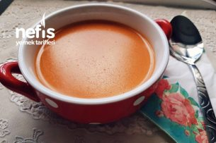 Sütlü Domates Çorbası Tarifi