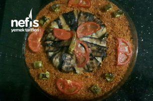Tavuklu Patlıcan Kapama Ve Pilav (Enfes Ana Yemek) Tarifi