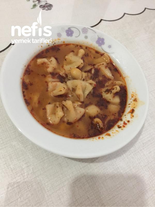 Doyurucu Çorba ( Yüksük Çorbası )