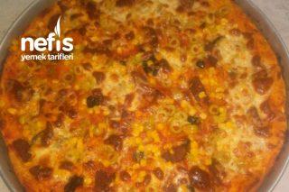 Ev Yapımı Pizza (Yok Böyle Bir Lezzet) Tarifi