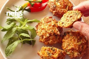 Havuçlu Kepekli Parmesanlı Muffin Tarifi