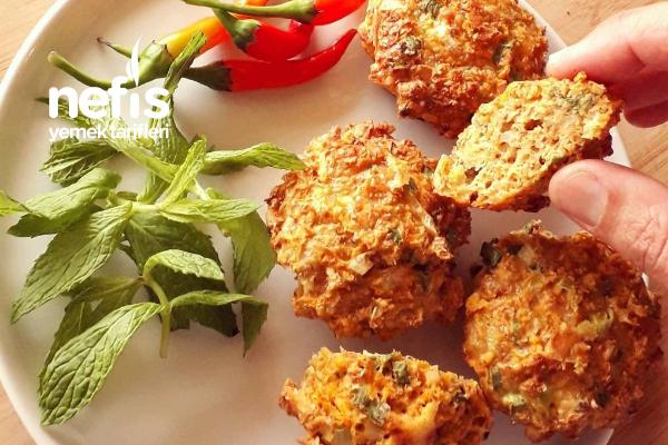 Havuçlu Kepekli Parmesanlı Muffin