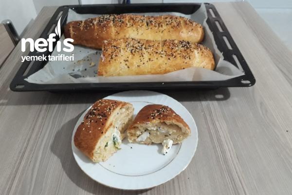 Lezzet Bombası Peynirli Ekmek Tarifi