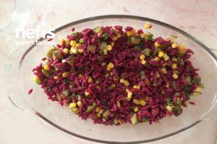 Şalgamlı Şehriye Salatası Tarifi