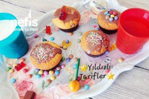 Sürpriz Muffin (Çikolatalı Muffin)(Videolu) Tarifi