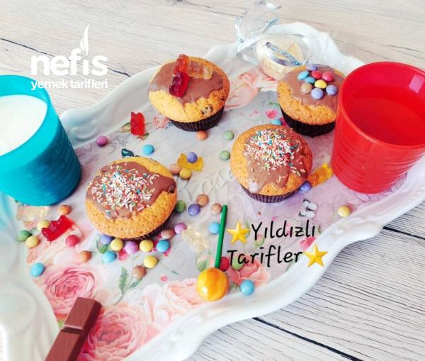 Süpriz Muffin (Çikolatalı Muffin)(videolu)