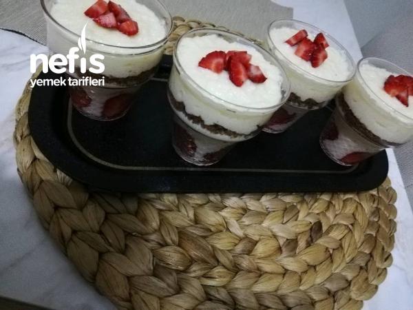 Sütlü İrmik Tatlısı(sadece 3 Malzemeli)