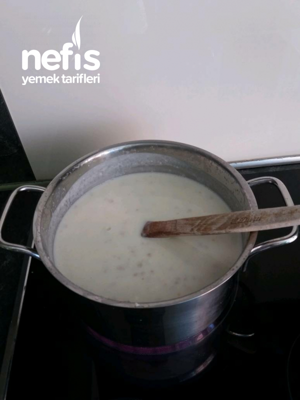 Ayranlı Çorba (kolay yazın Sıcakta Vaz Geçemeyeceğiniz Çorba)